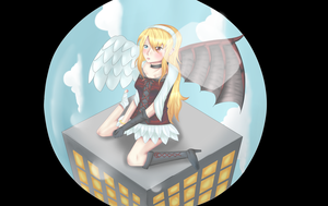 Angel or Devil by turquoiseted