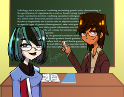 The lesson ... by Lupamannara36