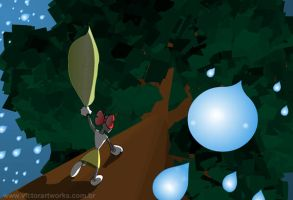 Little ant daily life - 3 by VictorHugo