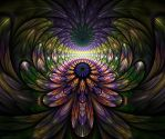 Psychedelic Feathers by Shroomer83