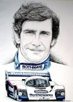 Jackie Ickx Tribute by machoart