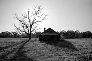 Abandoned House by rickagray