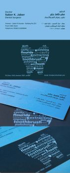 A Dentist Business card by Evil-Slayer