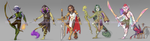 :CLOSED: Fantasy RPG Adoptables by Geinkotsu