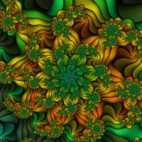 Fractal Flower by e-designer