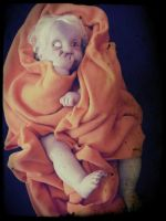 New Zombie Baby Halloween 2014 by Little-Psycho-Lilith