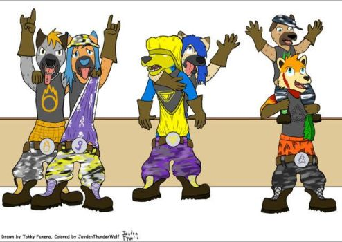 The REAL Wedgie Gang Welcome (Collab with Jayden) by Wedgie-Fox