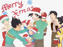 Dbz:Ready for Chirstmas! by NazHannaz