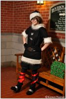 KH: Christmas Town Sora by CosplayerWithCamera