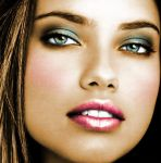 Coloration - Adriana Lima by expr3ssion