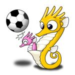 Sea Horse Football thing by Silverfox5213