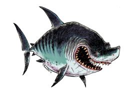 Megaladon by RobbVision