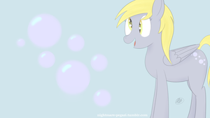 Derpy Wall Paper Practice by Nightmare-Pegasi