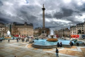 Trafalgar Square IV by JWalkerimages