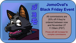 JomoOval's Black Friday Event by JomoOval