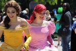 AN2013: Ariel and Belle by Lizeth