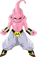 kid buu by luigicuau10