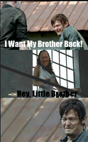Walking Dead-I Want My Brother Back by mangaka9213