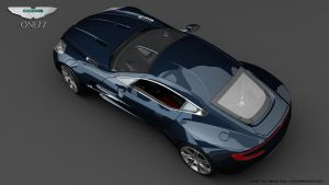 Aston Martin One77 4 by RJamp