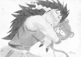 Gajeel and Lily by LTrevill