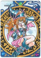 Island, Dark Magician Girl, MTG Alter Card by Toriy-Alters