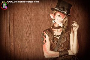 Troll Hunter Steampunk Demon (3) by FoxH