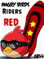 Angry birds riders by Angrybird54