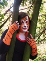 Tiger body paint photo 2 by spirit0407