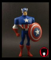 Captain America JLU Custom by EnzoSixx