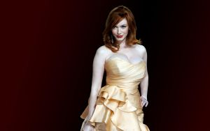 Christina Hendricks 2 by Residentartist101