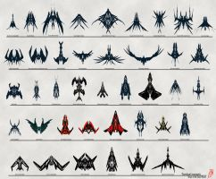 Ship concepts by Addinarr