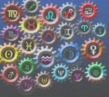 Gears of Horoscope by Greiga