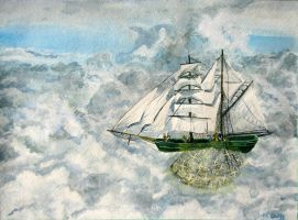 Sailing the Sky by cirruscastle
