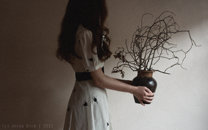 She feeds him light in the hope he will live again by Anina-Bird