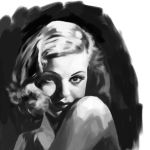 Joan Bennett - Value Study by My57