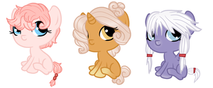 Foal Adopts {Closed} by perfectnesspony