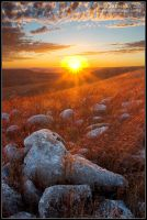 Rays over Konza by juddpatterson