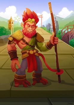 Monkey King 2 by TeslaRock