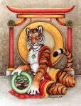 Temple of the Tiger by XianJaguar