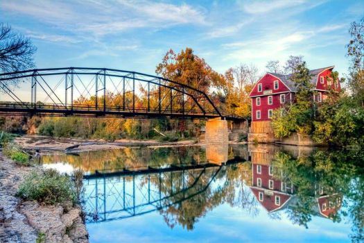 War Eagle Mill by GDKPhotography