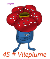 Vileplume by The-Real-Shaydee