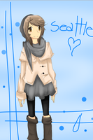 Fan OC : Seattle by Aekamii