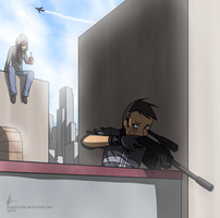 Bothered Sniper by YuzaHunter