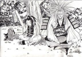 Shaman King. by Anouk-Sparrow