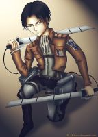 Levi/Rivaille from SNK by JHikaru