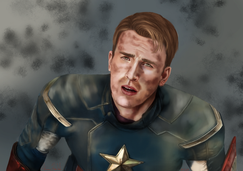 Captain America by Greyrose-Madness