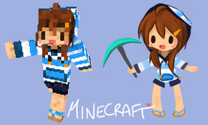 Minecraft Custom Player Skin by jamuko