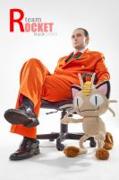 Team Rocket Giovanni by Kifir