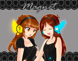 Magnet Collab With Rumay by superalvichan