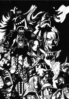 ONE PIECE - Potentiel Rulers of the Seas by Why2be